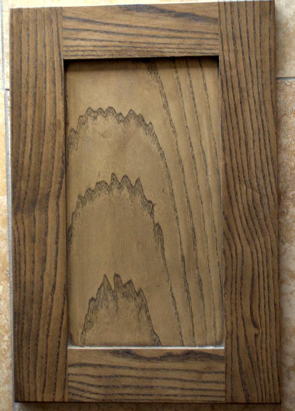 Ash Eased Shaker Recessed SOHO LOFT STAIN & Foothills Cabinet Company \u2013 Boise Idaho | Cabinet Door Panel ...