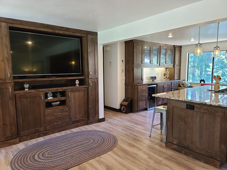 Rustic Beechwood with 50% Slate Stain 3 inch Shaker Door Frame by Molly