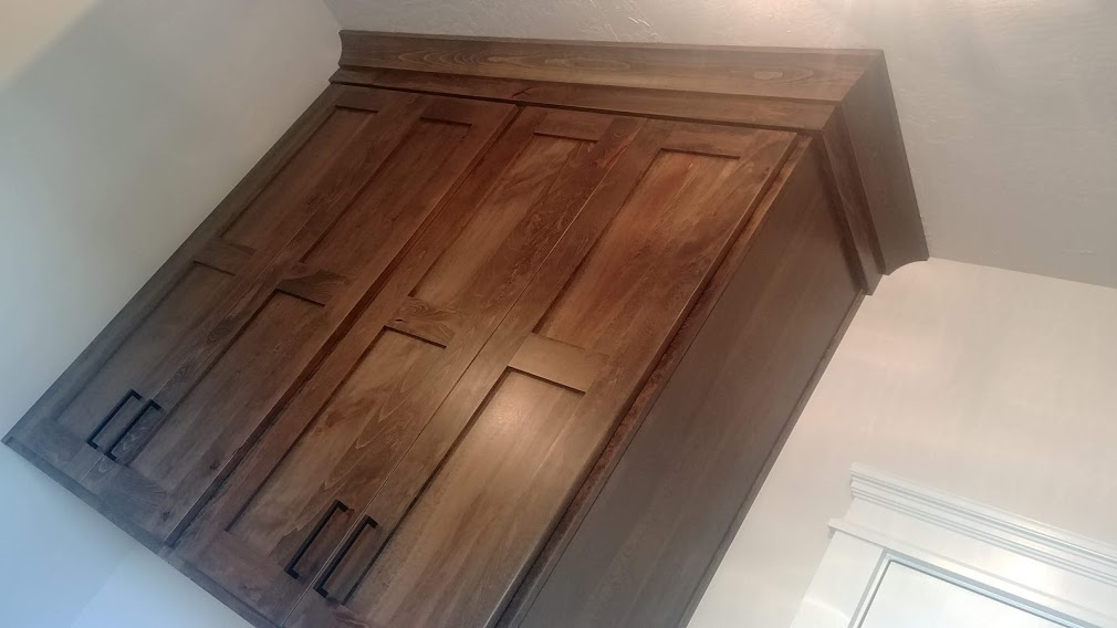 Rustic Beechwood with 50% Slate Stain Uppers over WD Rinard by Molly
